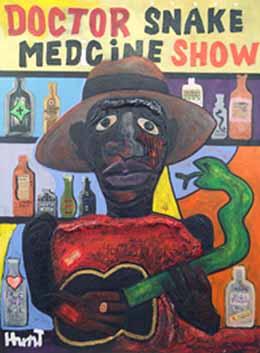 Hunt-Doctor Snake Medcine Show