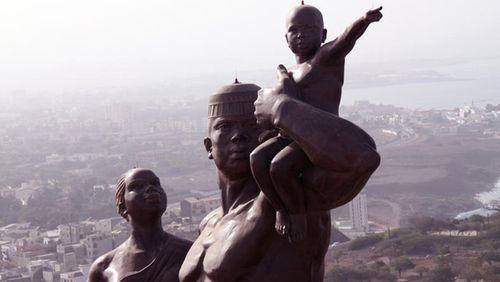 Senegal-Statue