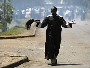 Kenyanpriestduringriots